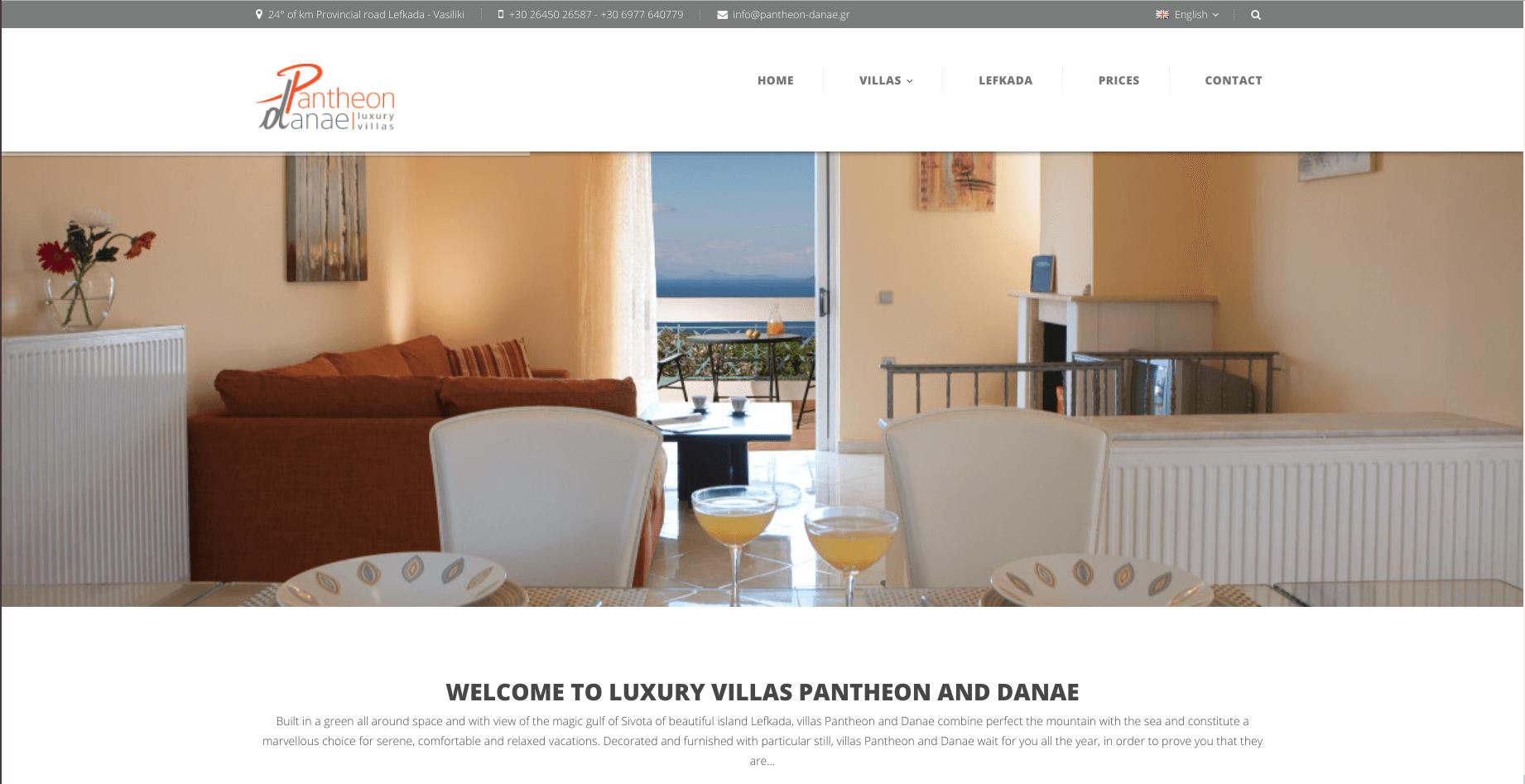 infinityweb-villa-pantheon-danae-homepage